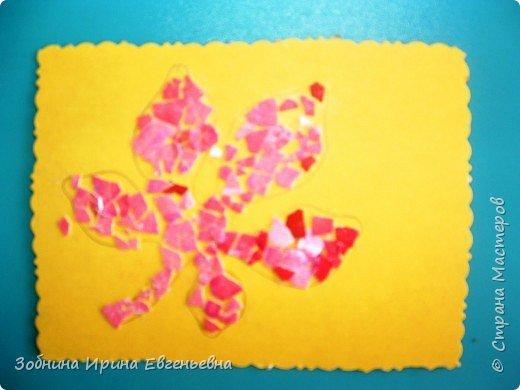 Аппликация: Разноцветные скорлупки фото 4