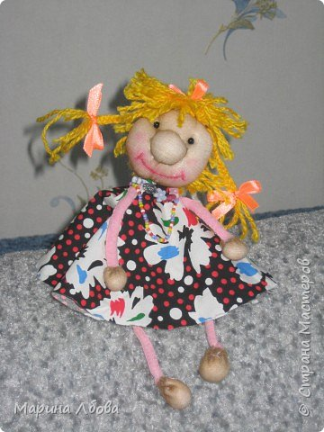 Бубаноска-текстильная кукла фото 3