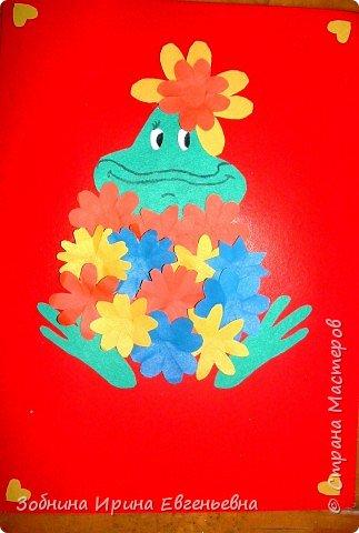 Аппликация: Ешё лягушки фото 2