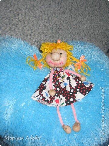 Бубаноска-текстильная кукла фото 4