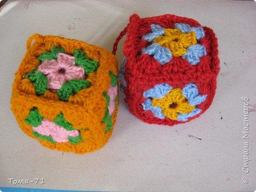 Вязание крючком: безопасные кубики для самых маленьких