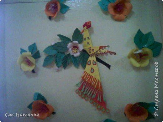 Бумагопластика, Оригами: Жар- птица