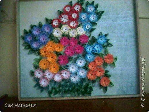Квиллинг: Весенние цветы