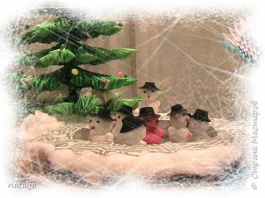 Оригами модульное: В лесу родилась ёлочка! фото 3