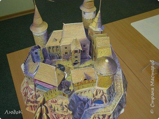 Бумагопластика: Замок волшебника