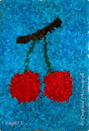 Торцевание: Цветы и вишня. торцевание фото 1