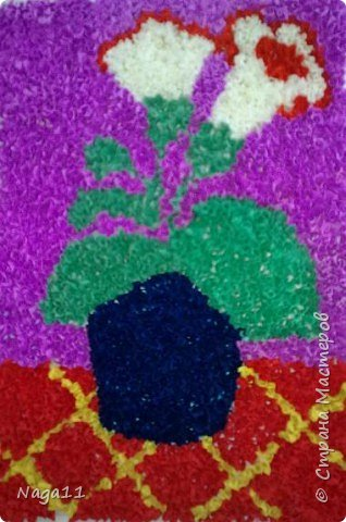 Торцевание: Цветы и вишня. торцевание фото 2