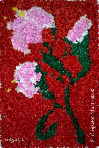 Торцевание: Цветы и вишня. торцевание фото 3