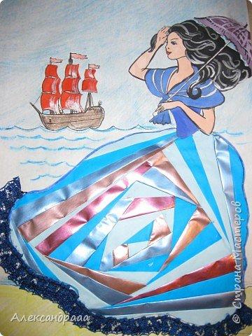 Айрис фолдинг: Алые паруса