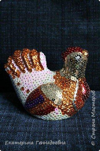Мозаика: Пасхальная курочка