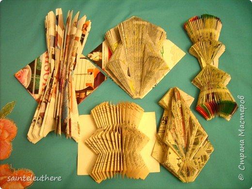 Оригами: скульптуры из старых книг