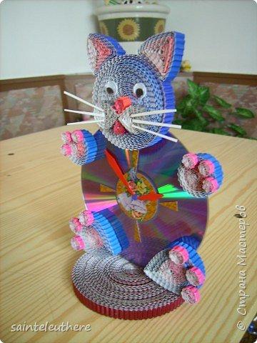 Квиллинг: котик фото 2