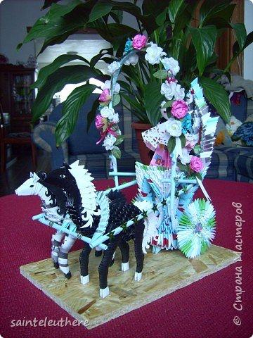 Оригами модульное: приход весны фото 1