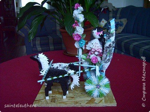 Оригами модульное: приход весны фото 2