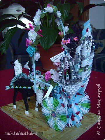 Оригами модульное: приход весны фото 4