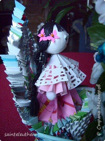 Оригами модульное: приход весны фото 6