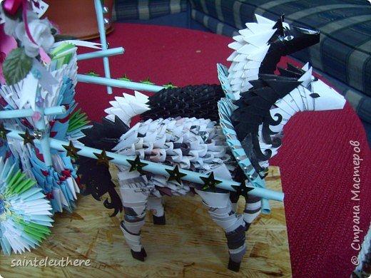 Оригами модульное: приход весны фото 7
