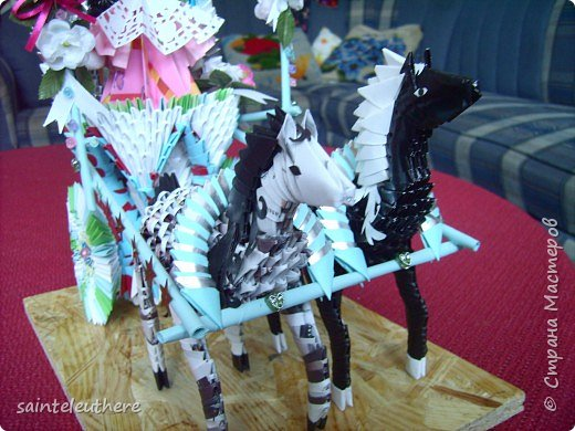 Оригами модульное: приход весны фото 8