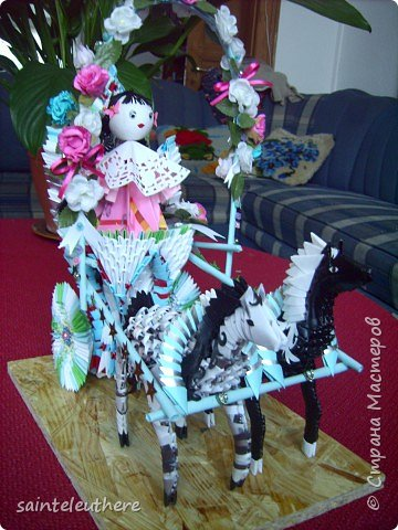 Оригами модульное: приход весны фото 9