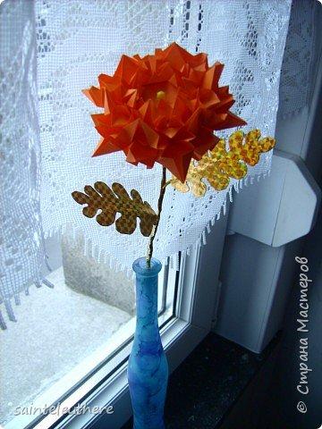 Оригами: хризантема фото 1