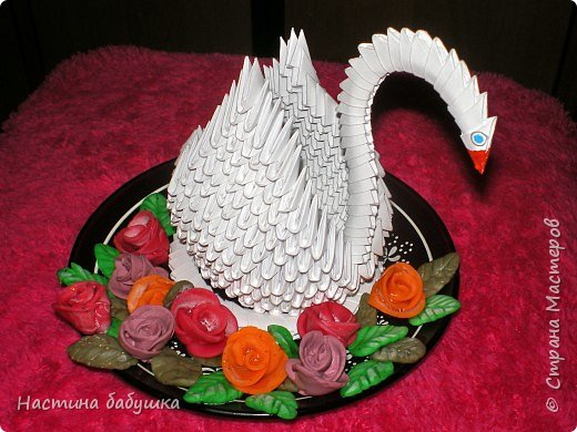Оригами модульное: Лебедушка фото 2