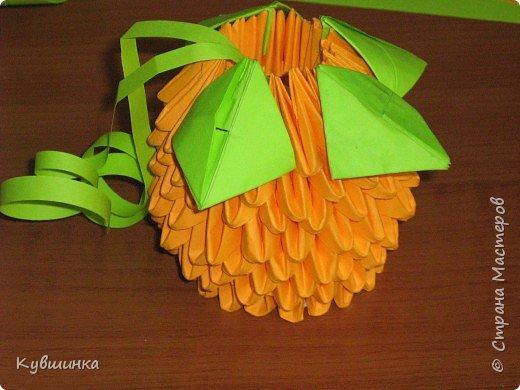 Оригами модульное: Почти как настоящий.