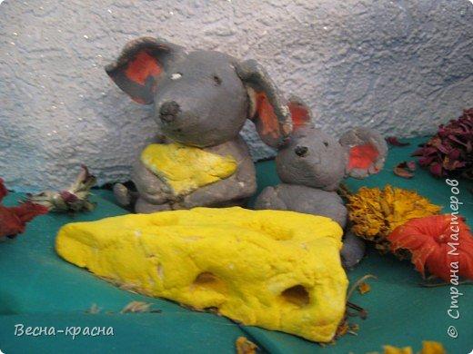 Лепка: Мышки