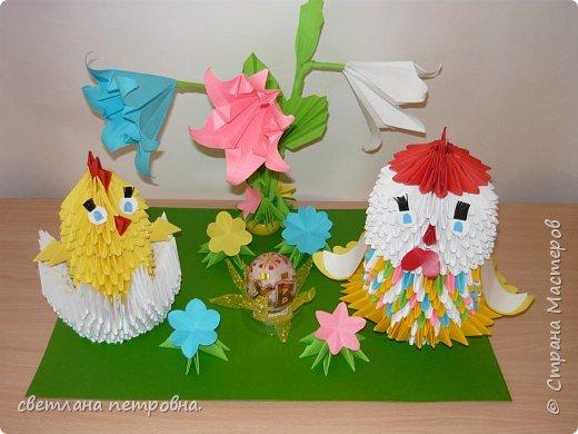Оригами модульное:   весеннее настроение   фото 2