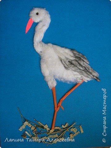Фантазии на тему птиц из разнообразного материала фото 8