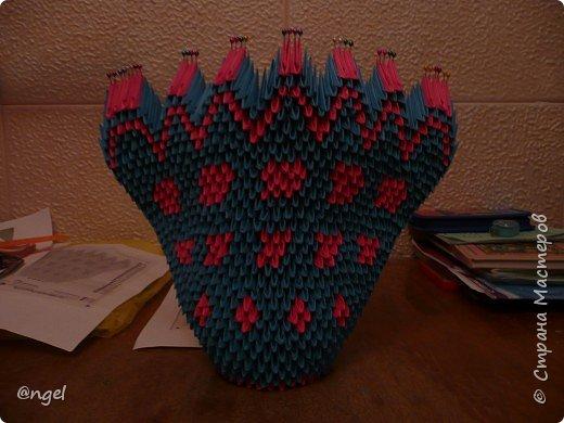 Оригами модульное: Павлины фото 2