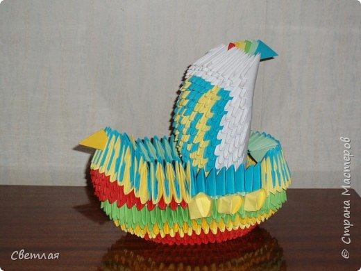 Оригами модульное: Наш кораблик мечты!!!