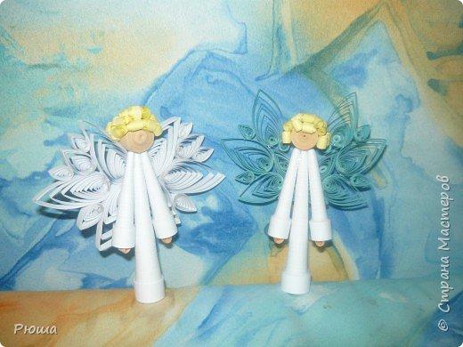 Квиллинг: Ангелочки фото 2