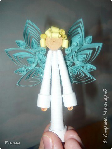 Квиллинг: Ангелочки фото 1