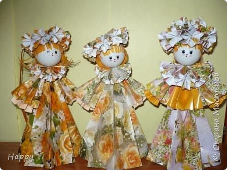 Кусудама: Куклы
