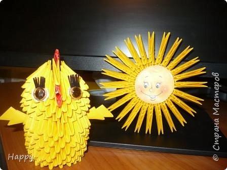 Оригами модульное: Весеннее  настроение