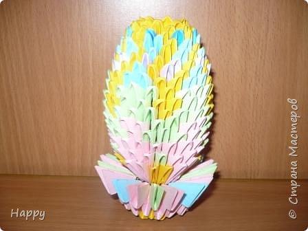 Оригами модульное: готовимся к пасхе