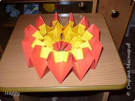 Оригами модульное: кусудама ли это?