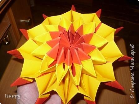 Оригами модульное: кусудама ли это? фото 2