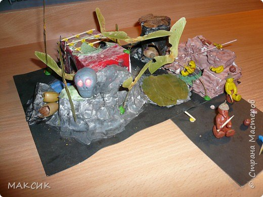 Бумагопластика: Остров сокровищ фото 1