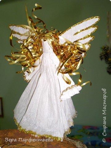 Бумагопластика: Рождественский ангел
