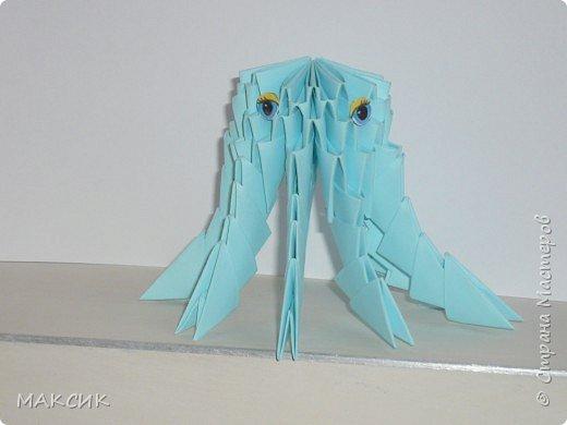 Оригами модульное: ОСМИНОЖКА