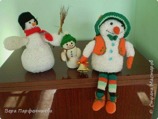 Вязание крючком: Снеговички фото 3