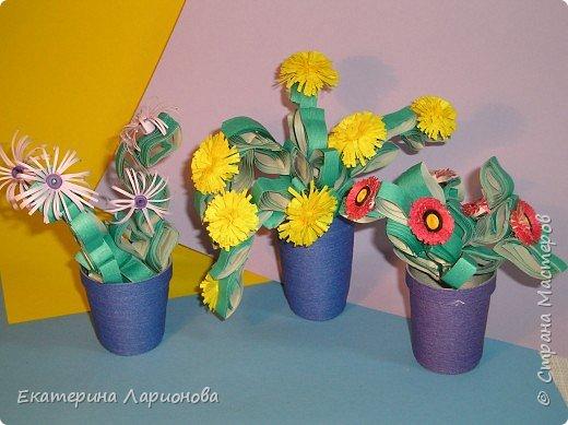 Квиллинг: Цветы, которые не нужно поливать