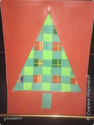 Плетение: Плетеная елка