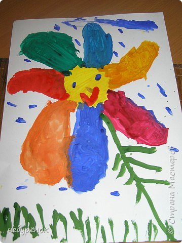Рисование и живопись: Работа моего сына.