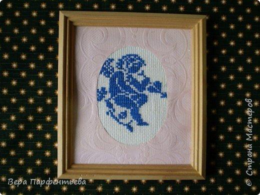 Вышивка крестом: Теневая вышивка фото 3