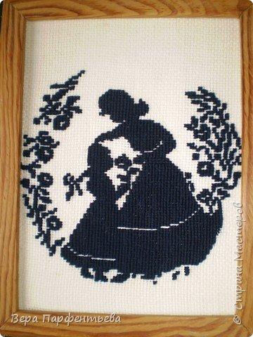 Вышивка крестом: Теневая вышивка фото 2