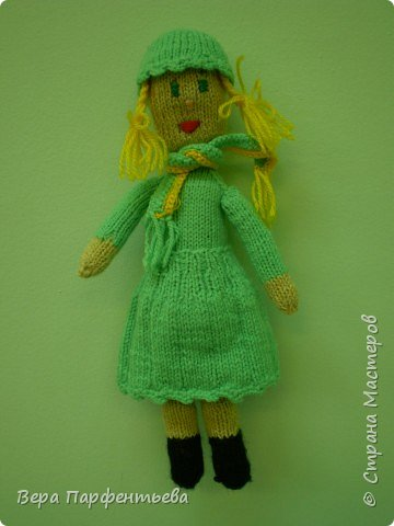 Вязание спицами: Игрушки .