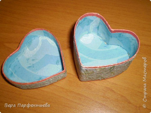 Сердечко - шкатулка фото 3