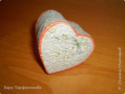 Сердечко - шкатулка фото 2